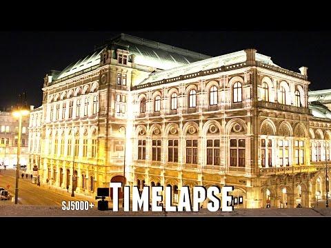 Timelapse in Vienna, Austria - State Opera (Wiener Staatsoper) [SJ5000+]