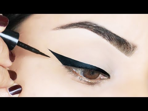 TOP 5 WINGED EYELINER HACKS TO TRY RIGHT NOW!!