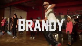 "Brandy - ""Sitting Up In My Room"" - JR Taylor Choreography"
