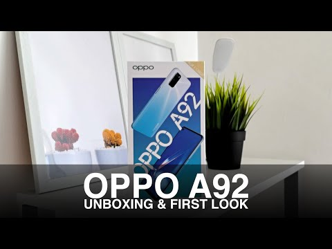 OPPO A92 Unboxing & First Look