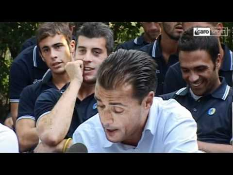 Icaro Sport. La presentazione del Santarcangelo e Santarcangelo-Forlì 3-2