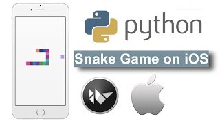 Python Snake Game Written and Deployed on IPHONE in TWENTY MINUTES