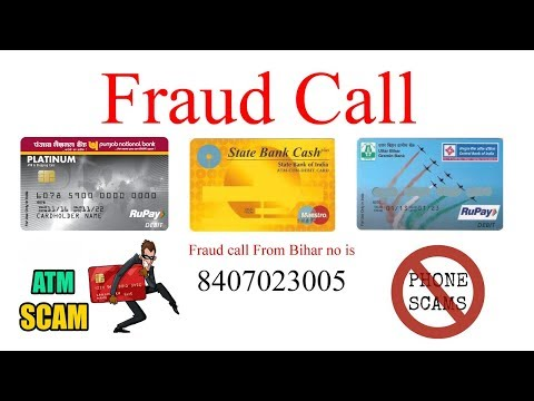 ATM Fraud Call || Very Funny || Hindi