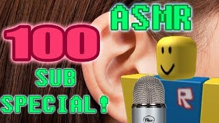 ROBLOX Exploiting but it's ASMR // 100 SUB SPECIAL!