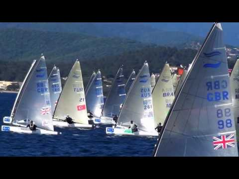Finn Class at the World Cup Series in Hyeres, France - Day 4