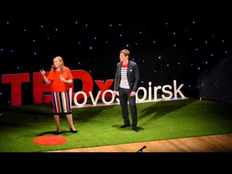 1+1 | Eduard Varaksin & Anastasiya Varaksina | TEDxNovosibirsk