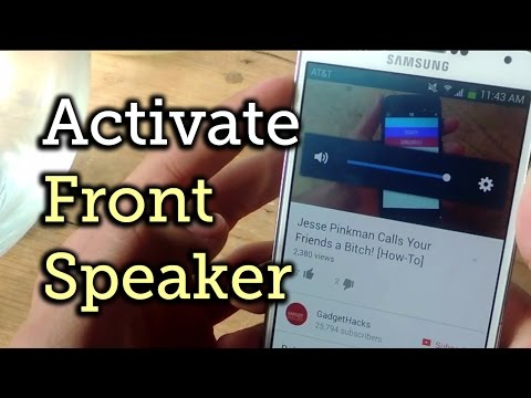 Get Surround Sound from the Front-Facing Speaker on the Samsung Galaxy Note 3 [How-To]