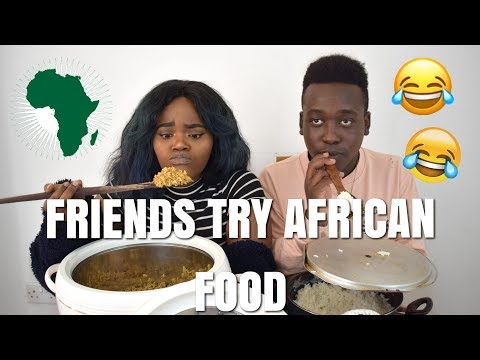 Friends Try African Food