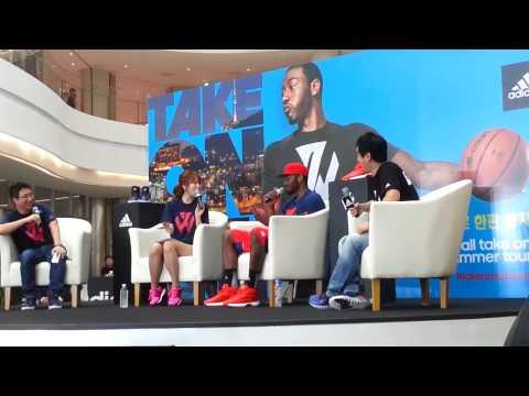 John Wall names his All-NBA team in South Korea