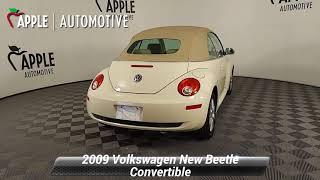 Used 2009 Volkswagen New Beetl…