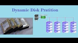 Dynamic Disk Pratition (Spanned & Striped ) thumbnail