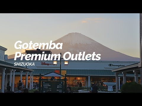 Gotemba Premium Outlets,Shizuoka | Japan Travel Guide