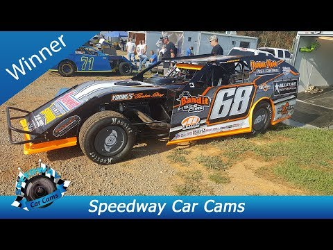 #68 Jimmy Payne - Winner - Open Wheel - 9-3-17 Tazewell Speedway - In Car Camera