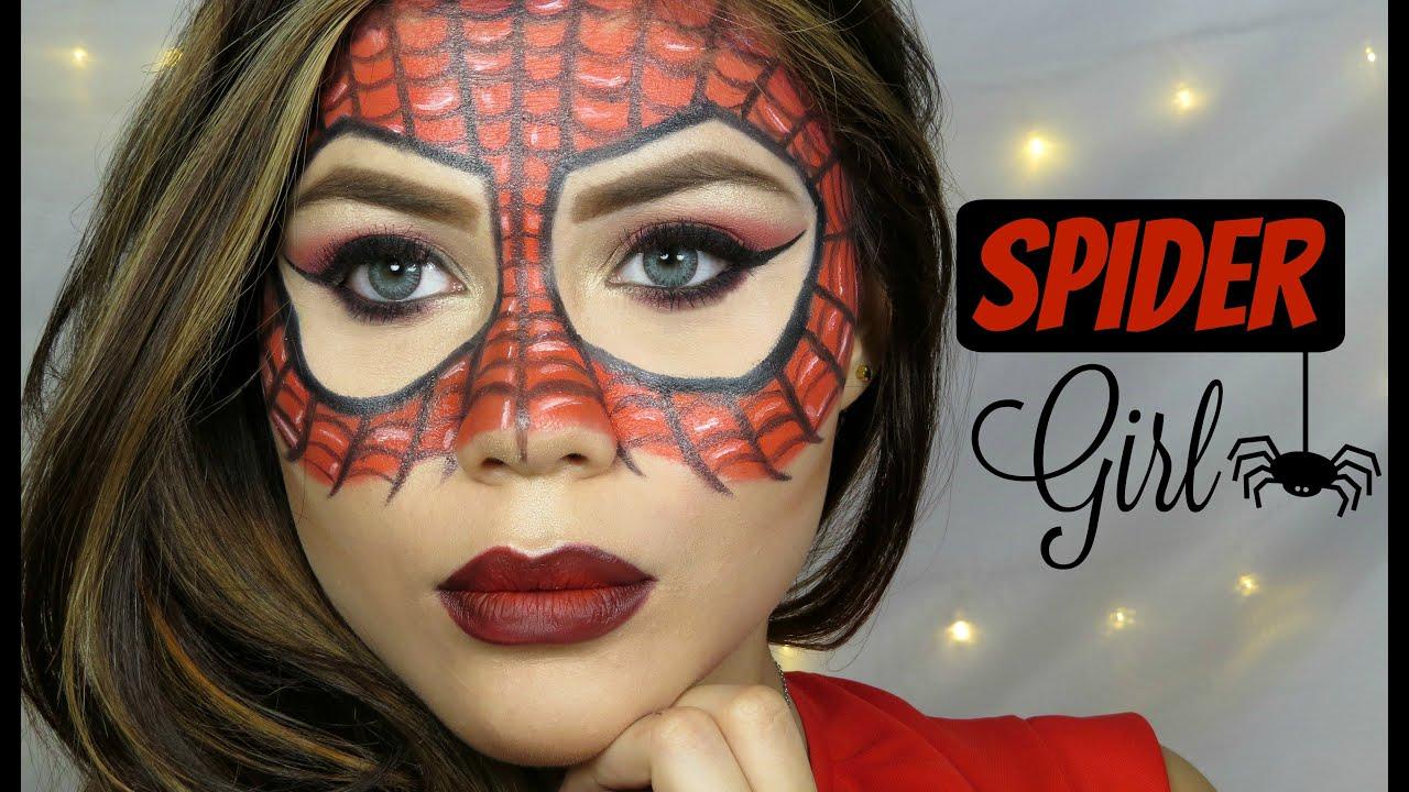 SPIDER WOMAN - MAKE UP TUTORIAL - HALLOWEEN - Cristina Vives ...