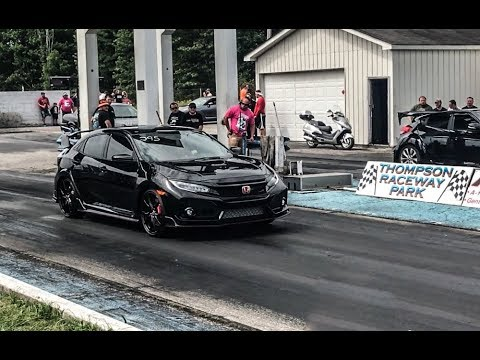 New Civic Type R 1/4 mile