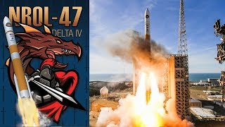 Delta IV Launch - NROL-47 - 12JAN18