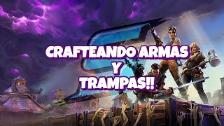 CRAFTEANO WEAPONS AND TRAPS TO LIVE SUBSCRIBERS!! - Fortnite Save the World #Dia162