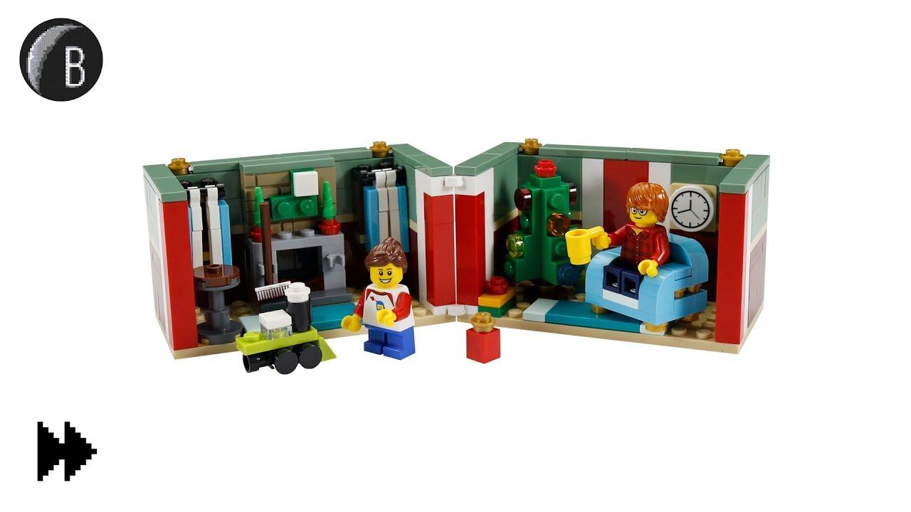 Lego Christmas Gift Box Seasonal Speed Build Set 40292 Youtube