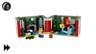 LEGO Christmas Gift Box - Seasonal - Speed Build - Set 40292