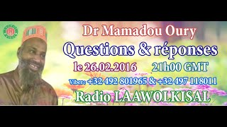Baixar Dr. Mamadou Oury: Questions & Réponses #3 radio laawol kisal