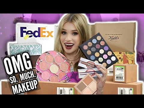 HUGE HAUL Unboxing NEW MAKEUP LAUNCHES! || Are They WORTH YOUR $$?