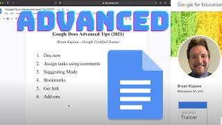 Google Docs Advanced Tİps (2021)