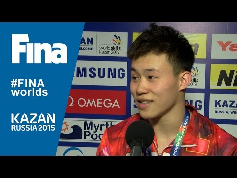 Siyi Xie: winner of Men's 1m Springboard in Kazan (RUS)