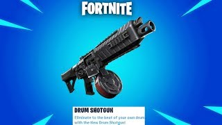 Fortnite New Drum Shotgun Update Gameplay + 14 Days of Summer Day 8! (Fortnite New Update)