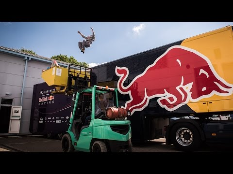 Free Running The Factory (with Red Bull Free runner Ryan Doyle)