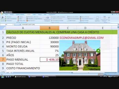 Видео Calculadora de prestamos hipotecarios bbva