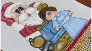 Como pintar cabelinho cacheado – Parte 4 Noel e Biel – Mariana Santos