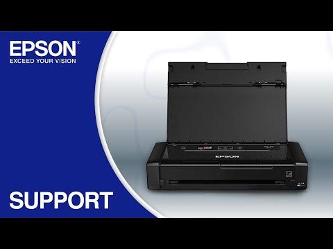 Epson WorkForce WF-110 | Wireless Setup Using the Control Panel