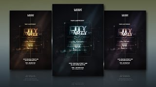 How To Create A City Party Poster In Photoshop