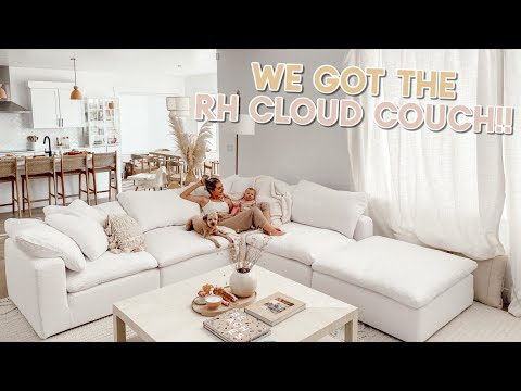 We Got The Cloud Couch!!! Delivery And Setting It Up!