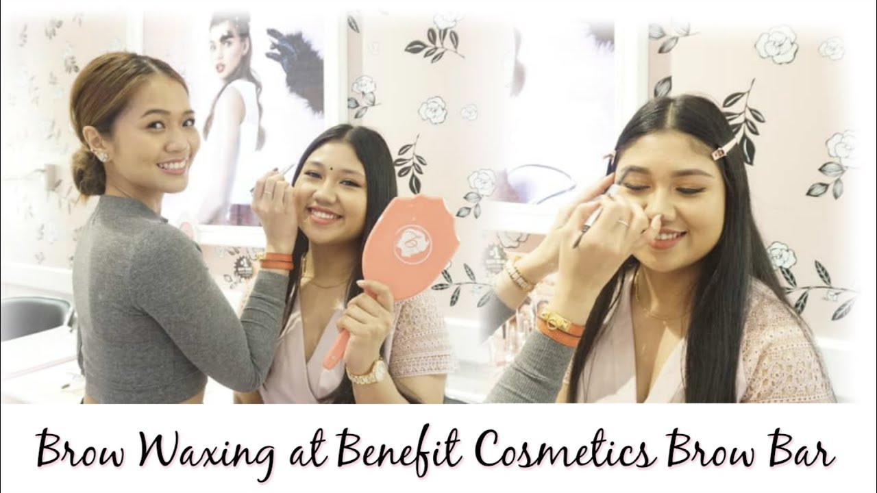 Brow Waxing At Benefit Cosmetics Malaysia Browbar Giveaway