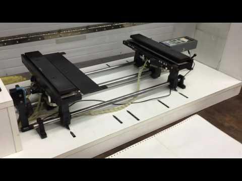 Demo Of Perforation Tester, Horizontal Tensile Test