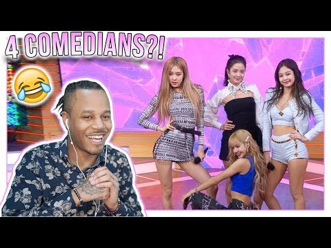Reacting To blackpink being extra af in america