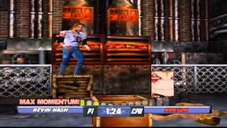 WCW Backstage Assault - Hardcore Championship With Kevin Nash (PS1)