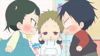 Cutest moments #01/School babysitters the best character/  学園ベビーシッターズ