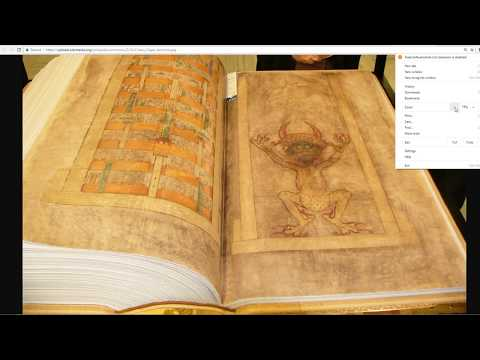 The Devils Bible-Codex Gigas-Handwritten With Help From The Devil Himself