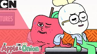Apple & Onion | Push It To The Limit  | Cartoon Network UK