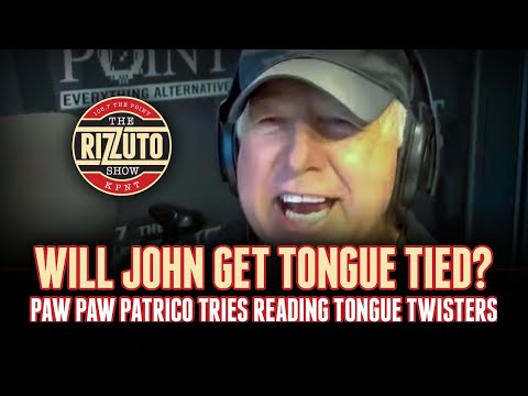 Will John Patrico get tongue tied? [Rizzuto Show]