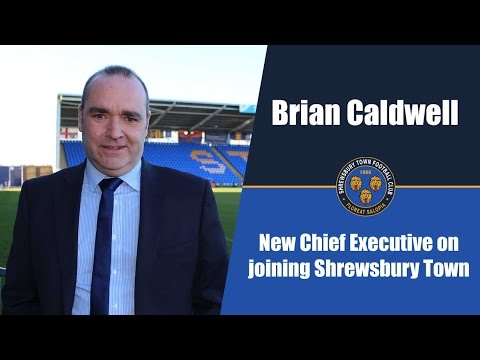 INTERVIEW | Brian Caldwell on joining Shrewsbury Town as CEO - Town TV