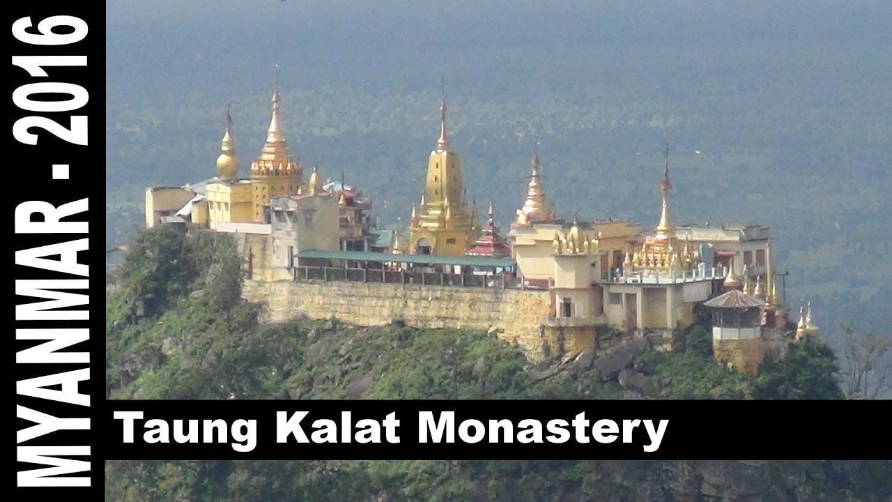 Image result for Popa Taung Kalat, Myanmar Photos
