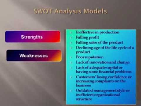 Swot And Pest Analysis - Youtube