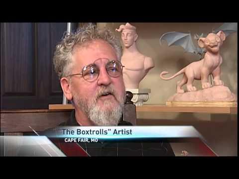 """Missouri Artist Sculpts """"The Boxtrolls"""" Characters"""
