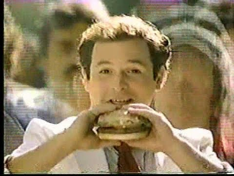 Jason Alexander in 1985 McDonalds Ad