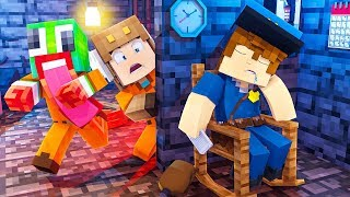 Minecraft Daycare - BABY MOOSECRAFT PRISON ESCAPE! w/ UNSPEAKABLEGAMING (Minecraft Kids Roleplay)