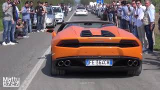 Launch Controls Accelerations  Burnouts   Cars  Coffee Italy Brescia 2017!