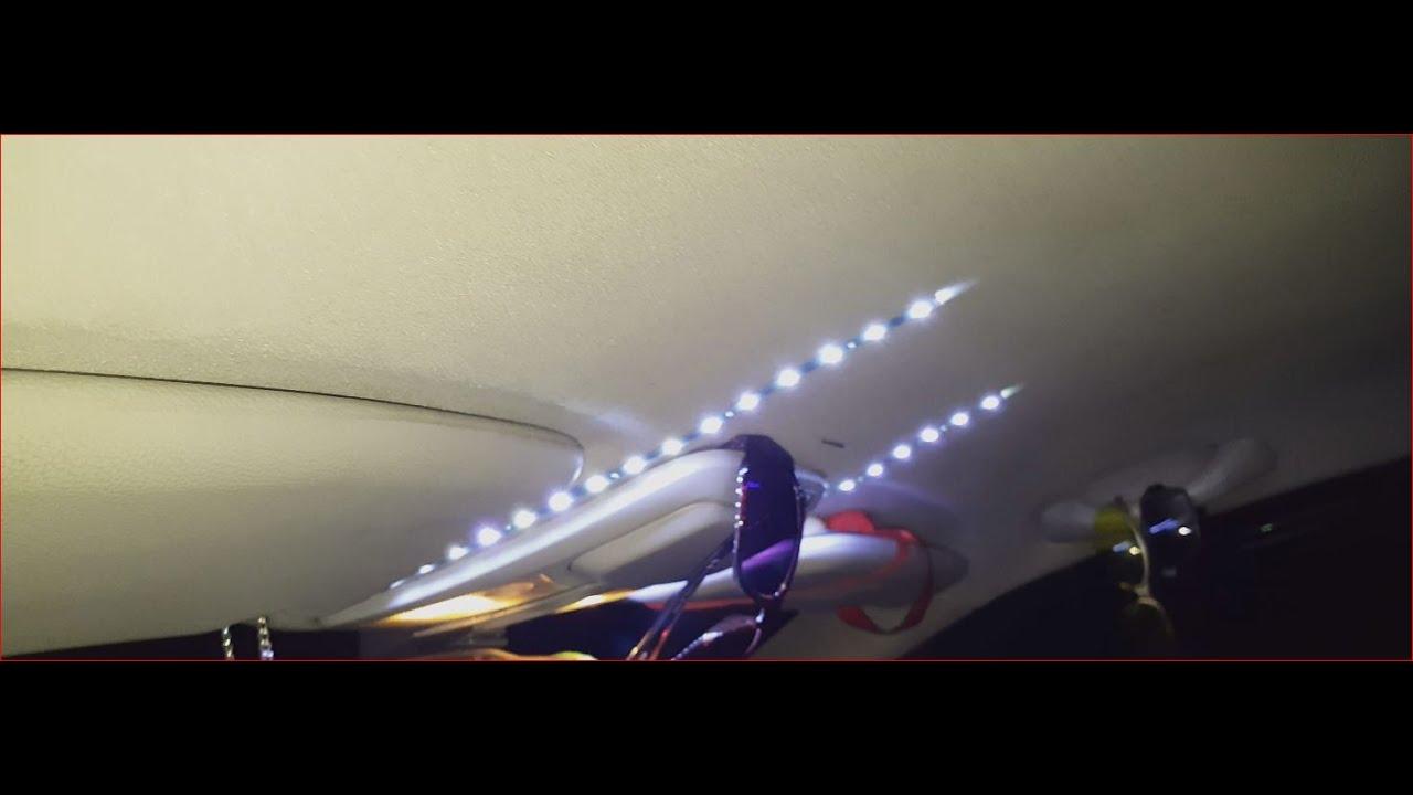 Plafoniere A Led Per Furgoni : Illuminazione abitacolo con collegamento alla plafoniera led